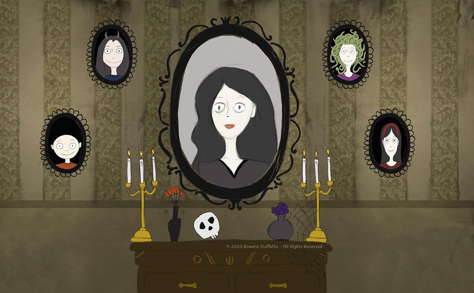 Monstrum family - Portraits