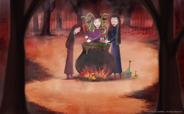 Monstrum family - Witches