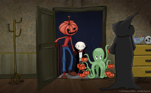 Monstrum family - Trick or treat