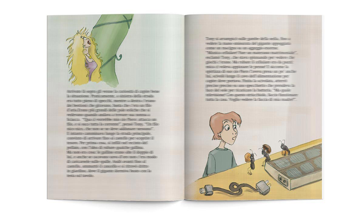 Book: Tony e il fagiolo magico