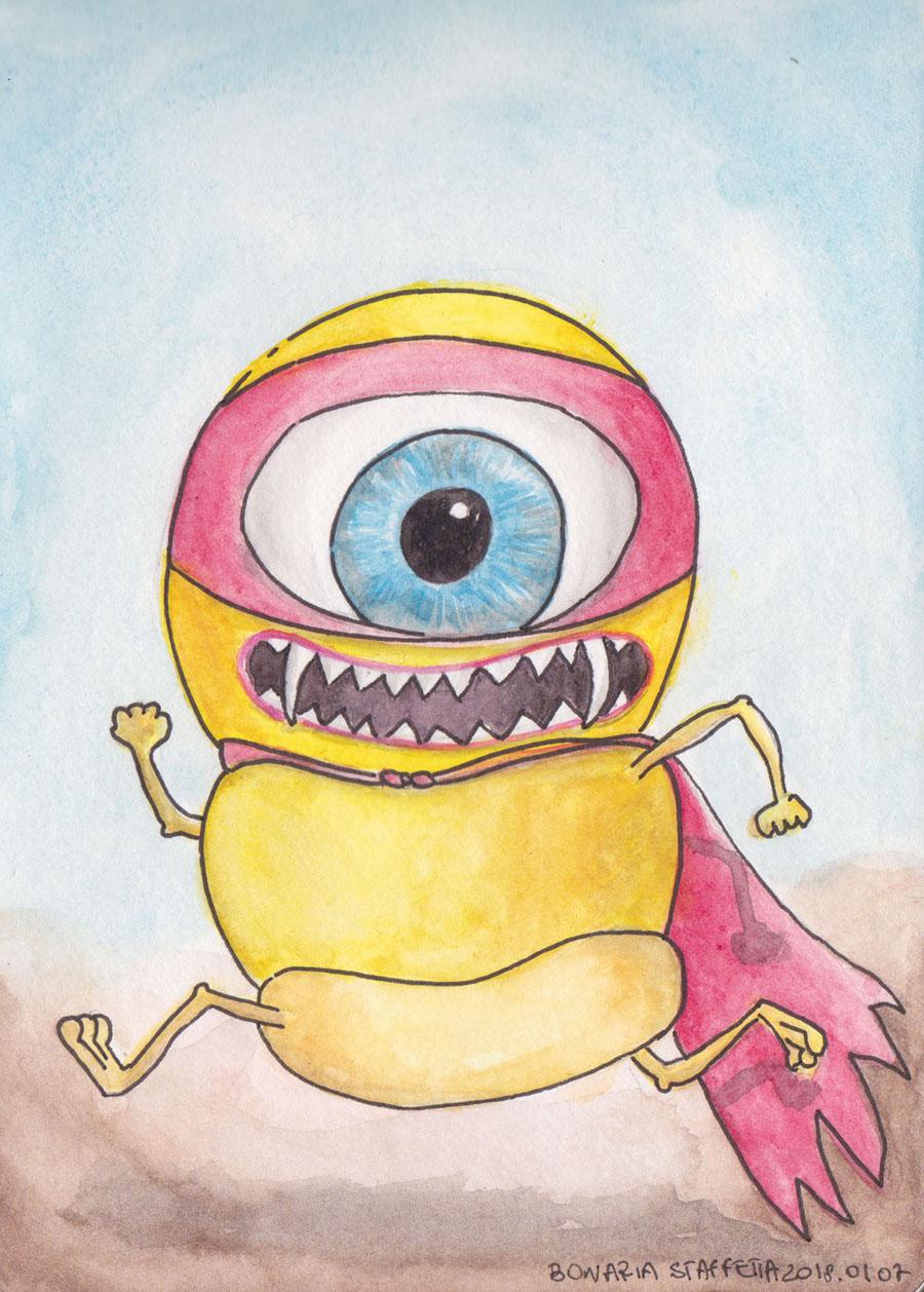 Monster number 4