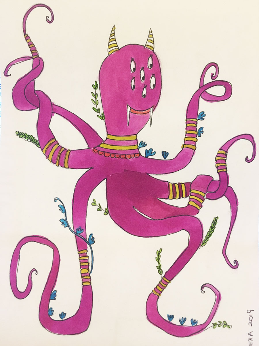 Creatures: Octopus