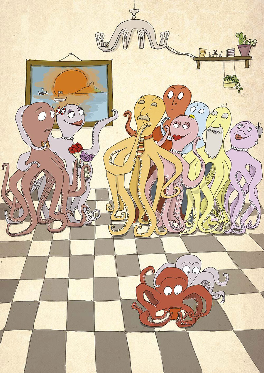 Octopus in love 2