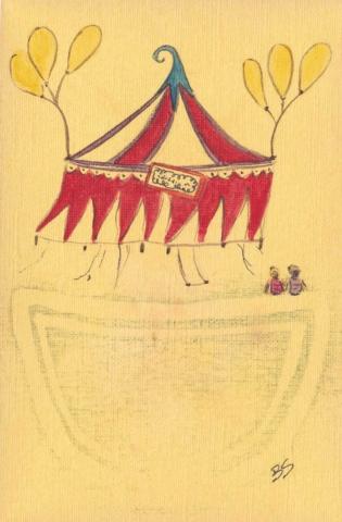 Circus 10x15 cm