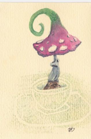 Mushrooms 10x15 cm
